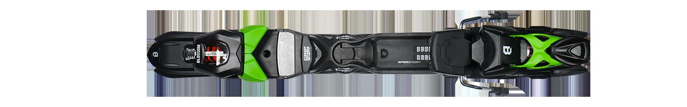 Blossom Ski, Blinding Plate Speedcom WSP412 Green